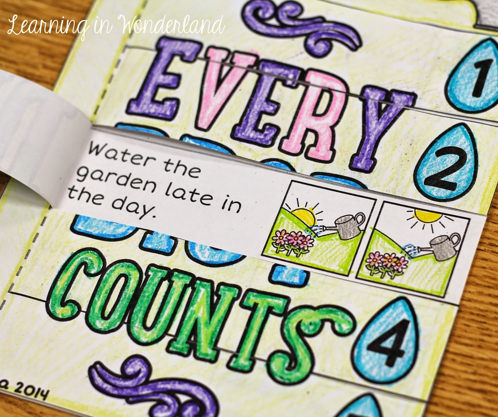 Water Conservation Foldable