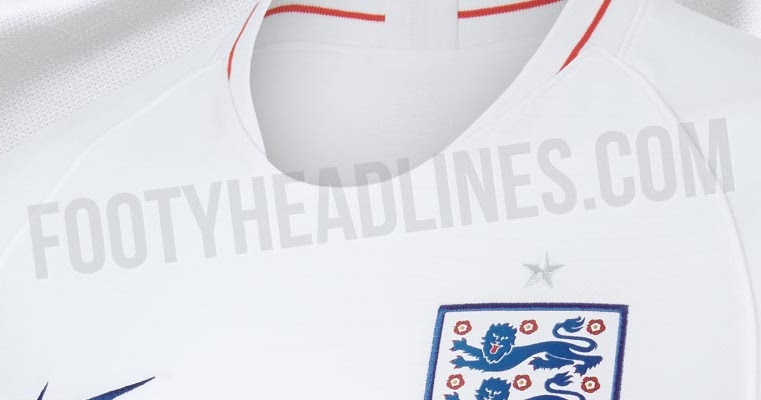 Nike england 2018 world cup home kit leaked footy headlines for World no 1 home