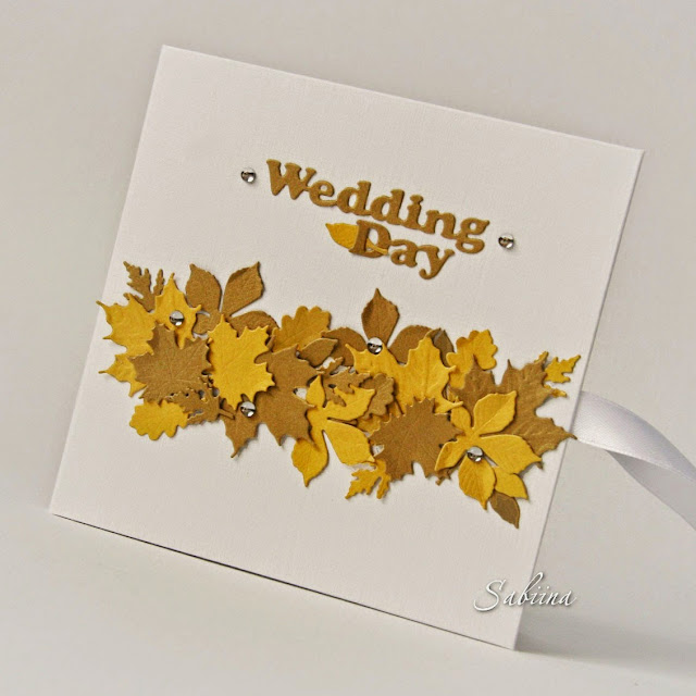 Свадебный CD-box, свадьба в золоте, Clean and Simple, чисто и просто, просто и со вкусом, свадьба осенью, осенняя свадьба, осенний конверт для фото, свадьба в золотом цвете, ручная работа, конверт для диска, своими руками, обложка для диска, CD-box, свадебный фотограф
