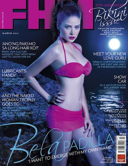 Click On Sexy Photos Of Bela Padilla Inside Fhm -2470