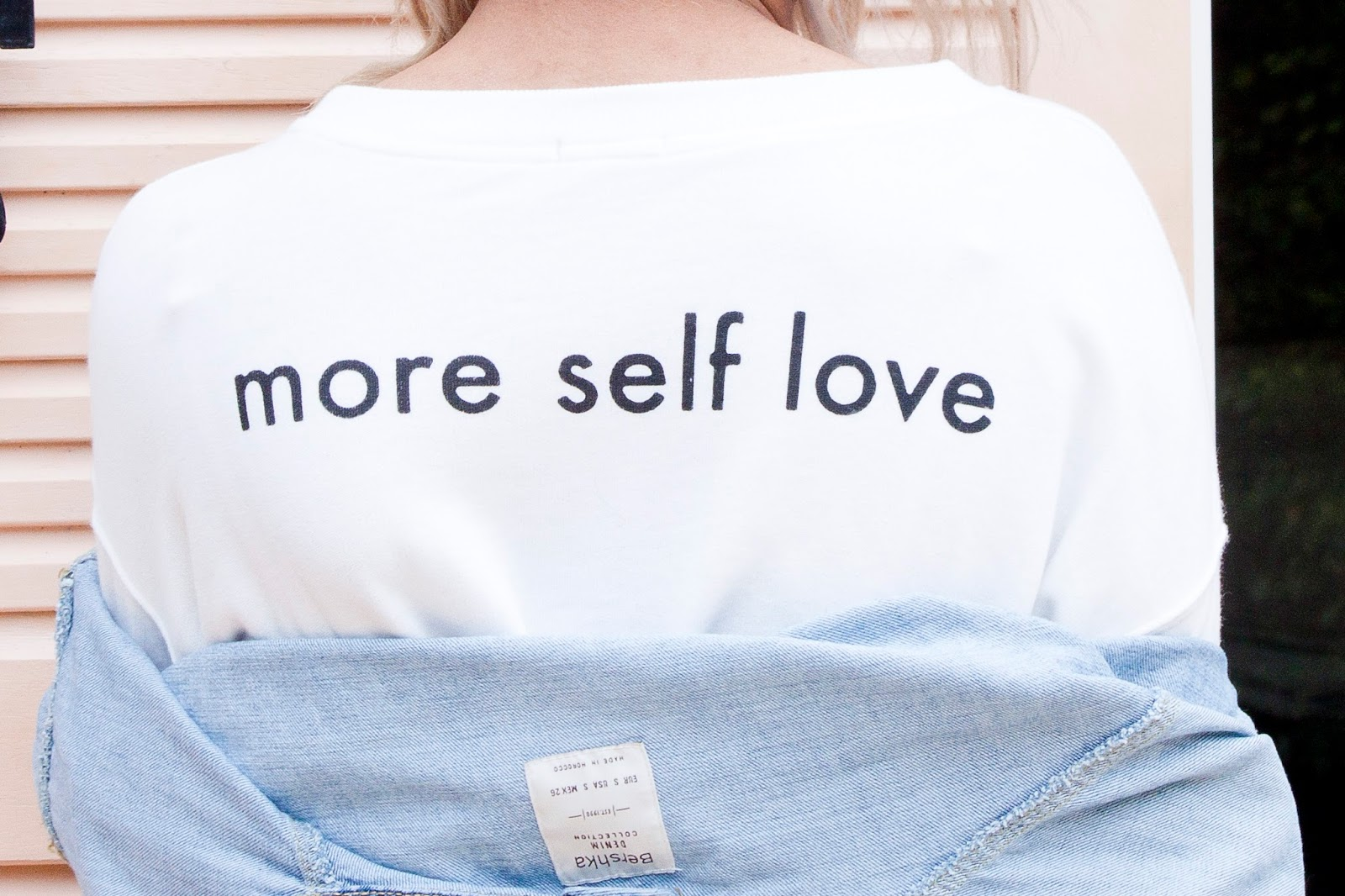 Self love sweat Bershka