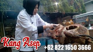 kambing guliong di Cigadung Bandung