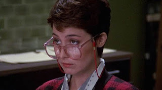 Ghostbusters 1984 Annie Potts as Janine secretary