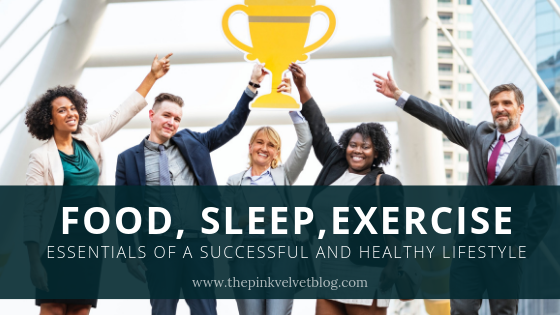 Food, Sleep, Exercise: Essentials of a Successful and Healthy Lifestyle