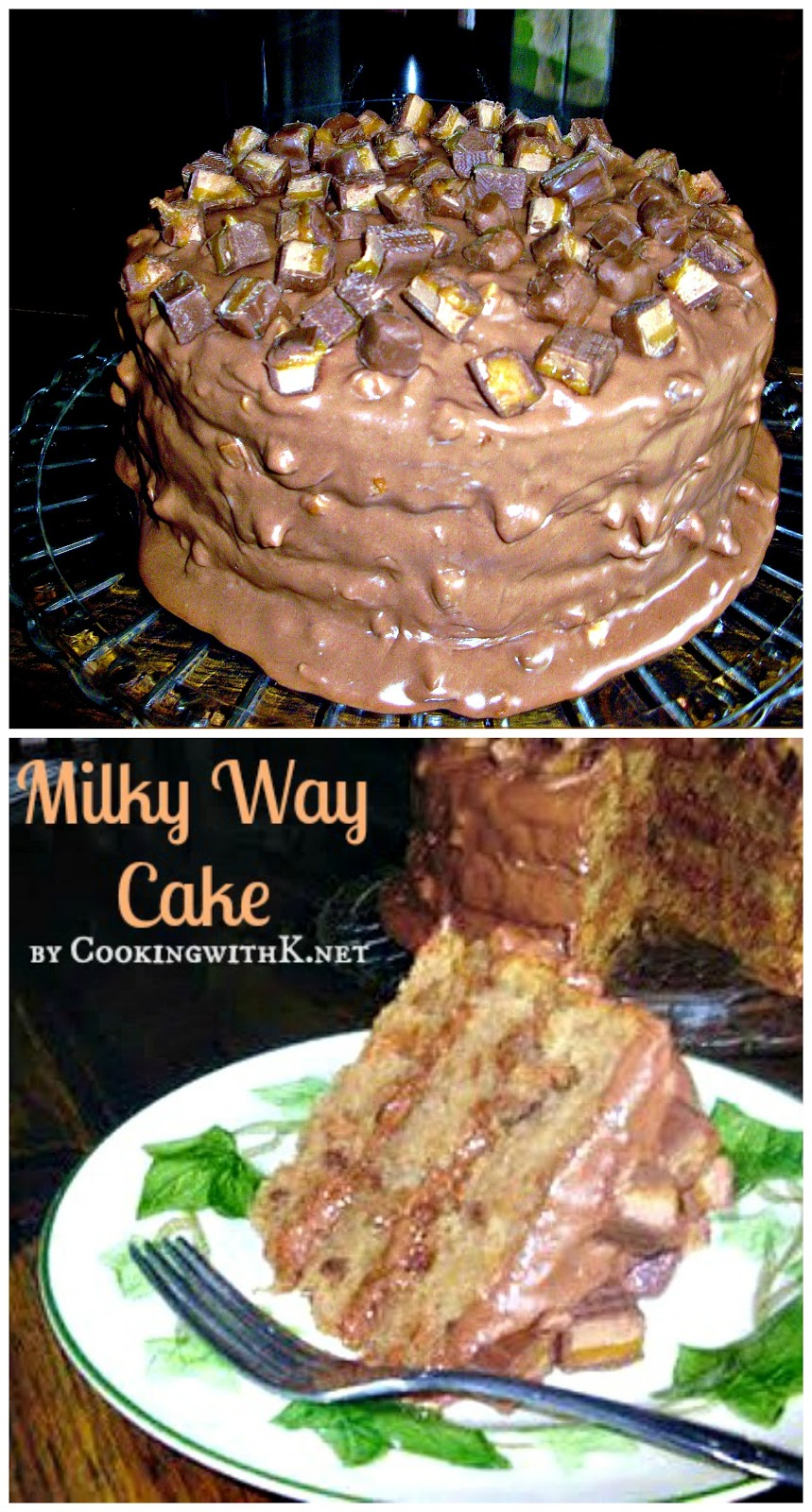 Cooking with K: Milky Way Cake