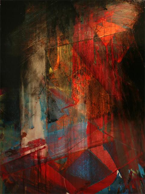 jean baptiste besançon artiste peintre acrylique et glycero abstraction lyrique