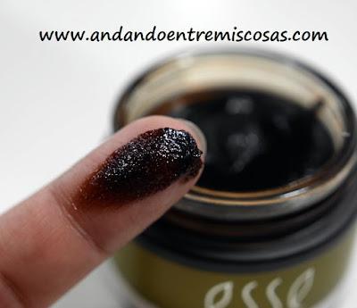Exfoliante facial de cacao, Esse Cosmetics