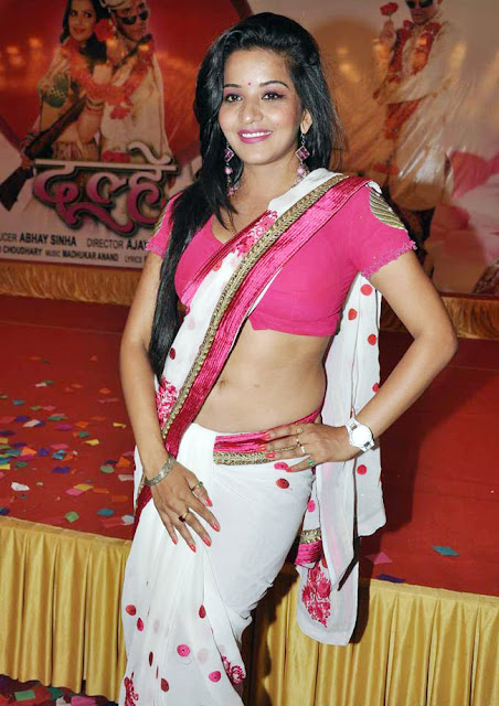 Bhojpuri-Actress-In-Sari