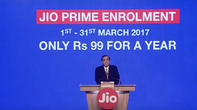 Jio, Jio Prime, Reliance Jio, Jio Prime programme, Jio Prime