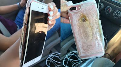 Bukan Barang Murah, iPhone 7 Plus Tiba-Tiba Keluarkan Asap Ini Gegerkan Netizen