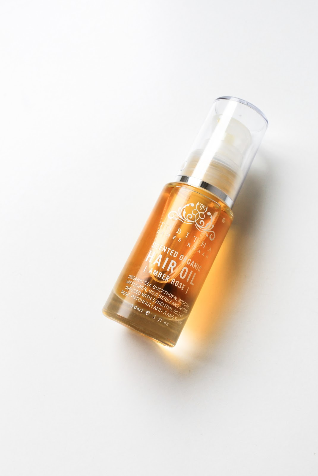 Tabitha James Kraan Scented Organic Hair Oil Beauty Heroes
