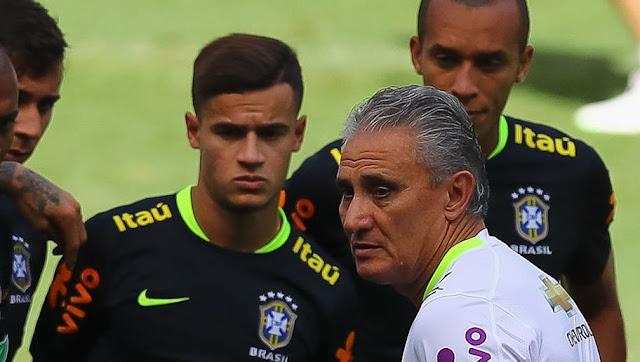Pernyataan yang membuat murung Coutinho di sesi latihan Brazil