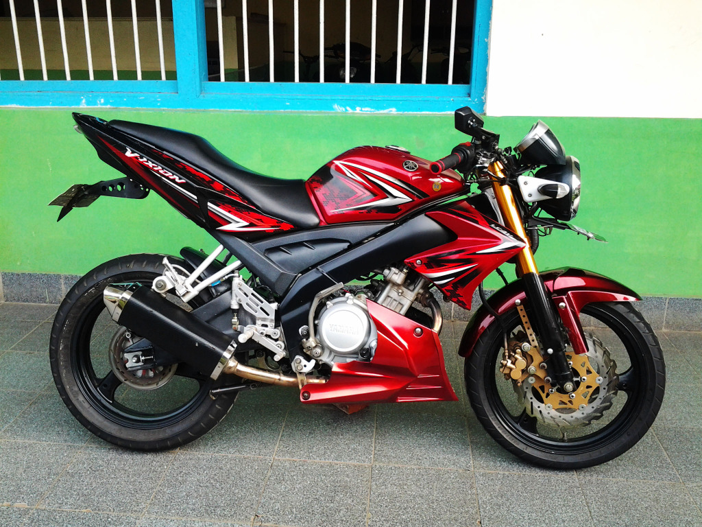 109 Modif Yamaha Vixion Lama Modifikasi Motor Vixion Terbaru