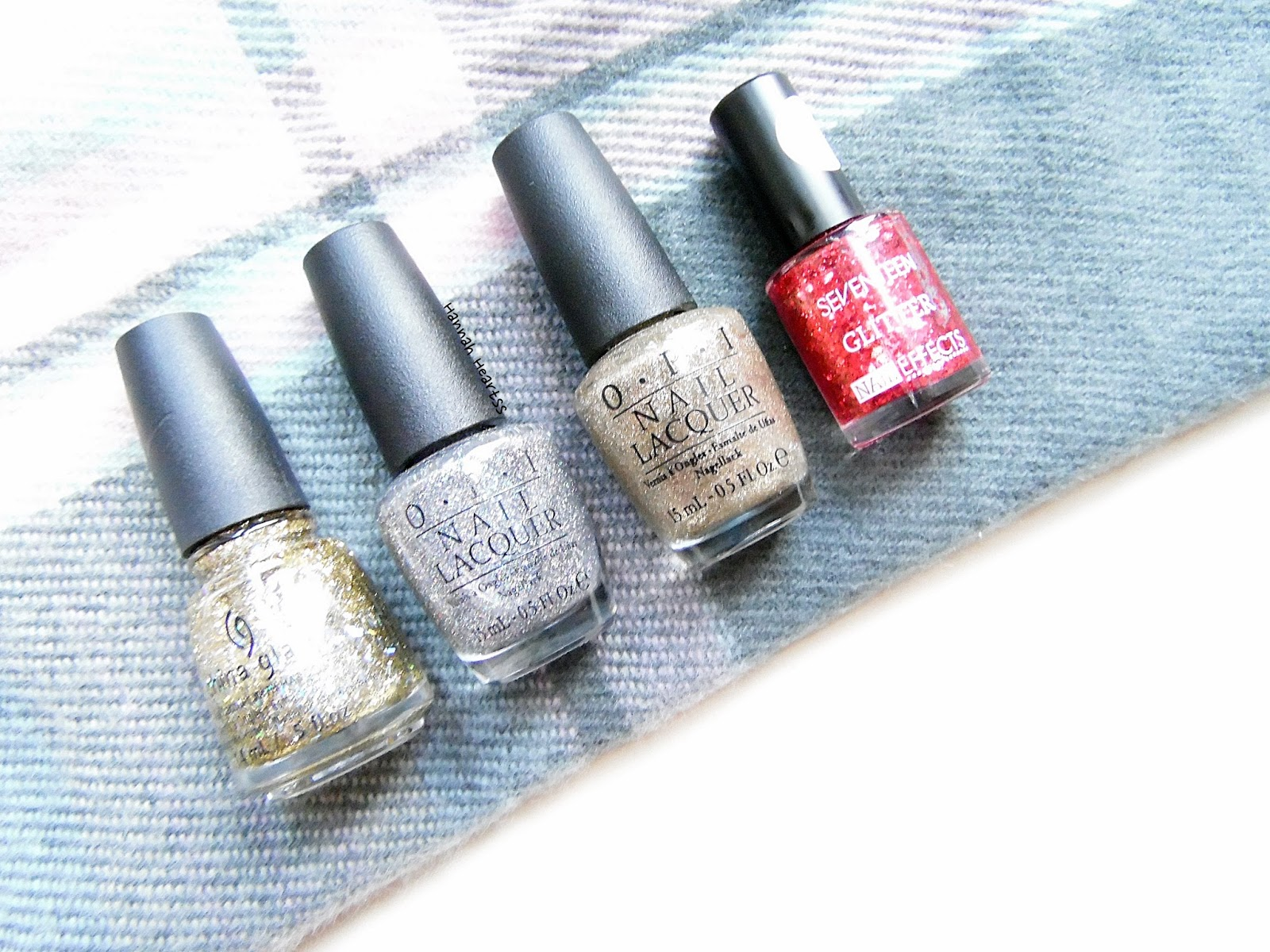Favourite Glitter Nail Polishes