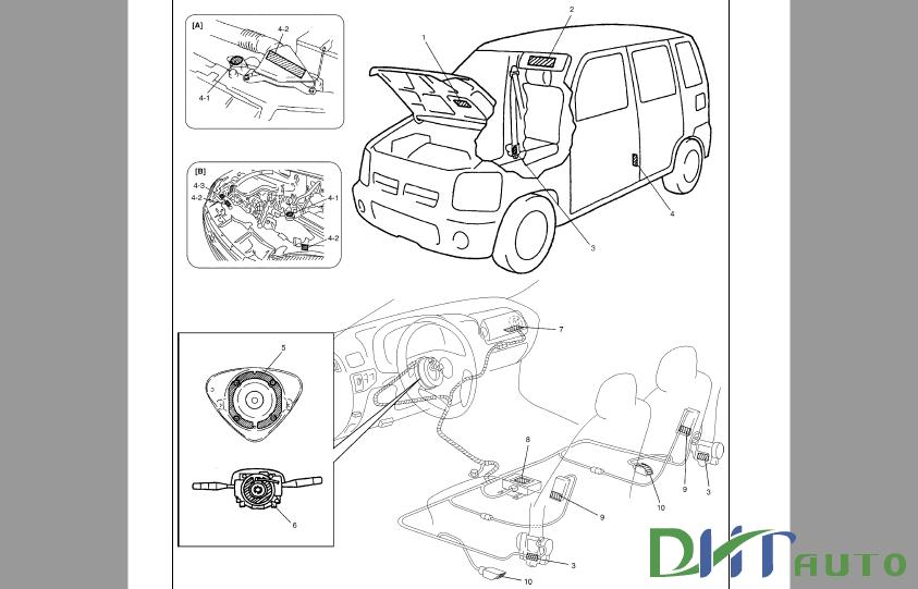Suzuki Wagon R   Rb310  Rb413  Rb413d  Service Manual