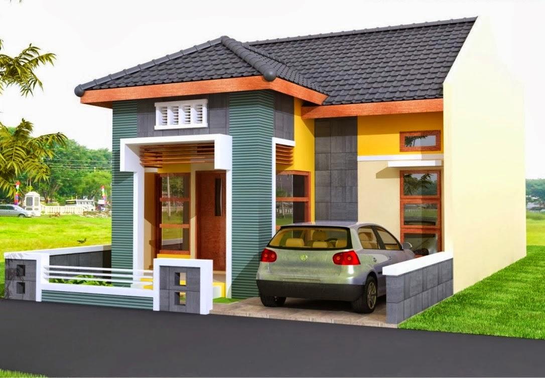 60 Desain Rumah Sederhana Tapi Mewah Dengan Contoh Gambar