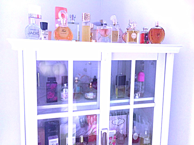 ... Purpose Curio Or Occasional Cabinet, It Seems Custom Designed For A  Perfumeru0027s Collection. Thereu0027s Enough Room For One Thing To Both Display  Perfumes ...