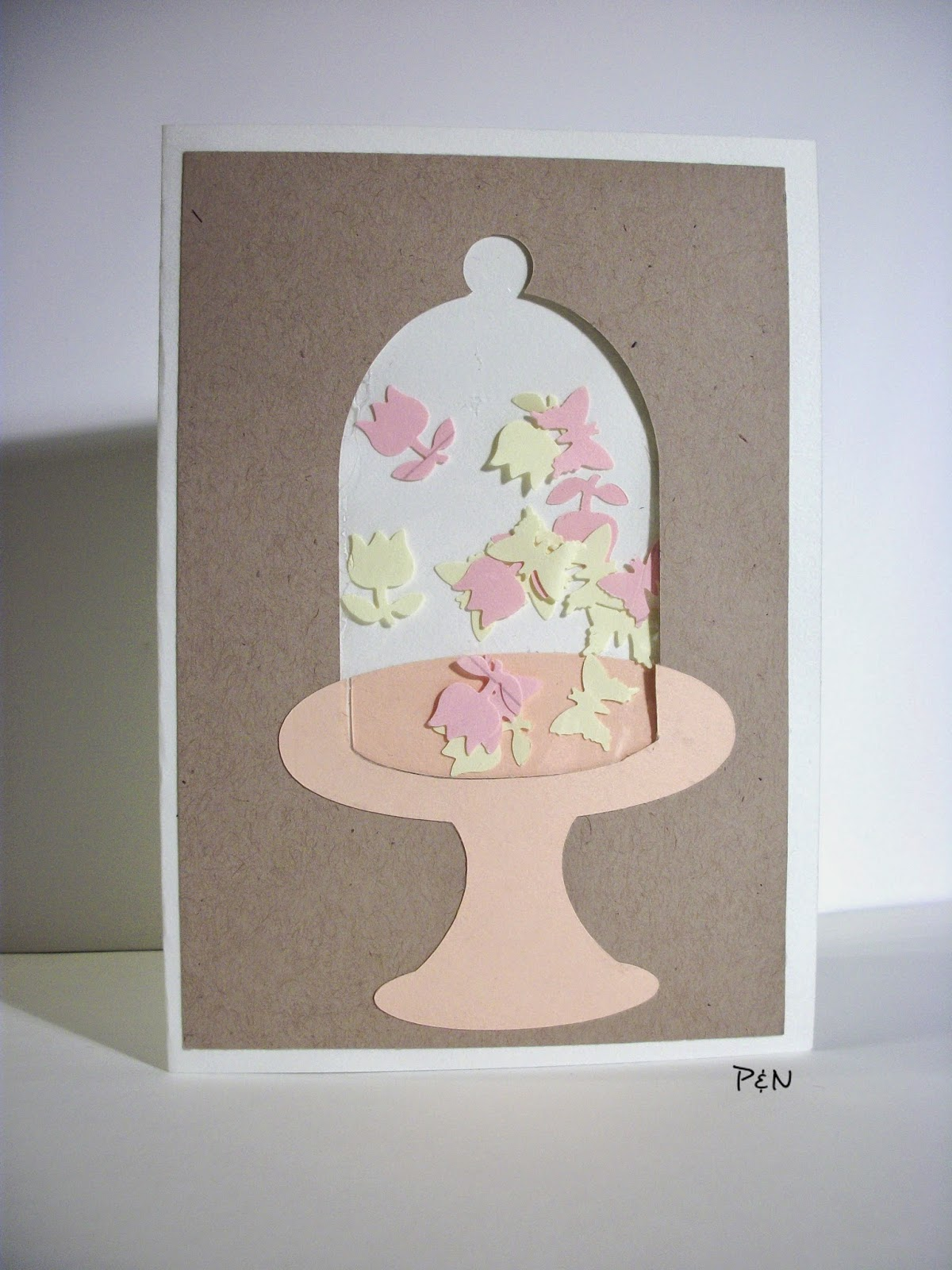 Pumps & Needles Bell Jar Shaker Card