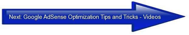 Next: Google AdSense Optimization Tips and Tricks {Videos}