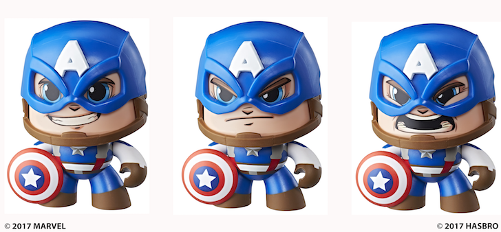 Captain America Marvel Mighty Muggs 2018