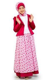 Model Baju Muslim Anak Perempuan Untuk Lebaran Terbaru