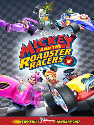 Mickey And The Roadster Racers 2017 DVD R1 NTSC Latino