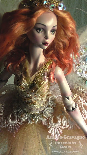 muñecas de porcelana artisticas one of a kind ooak fine art dolls