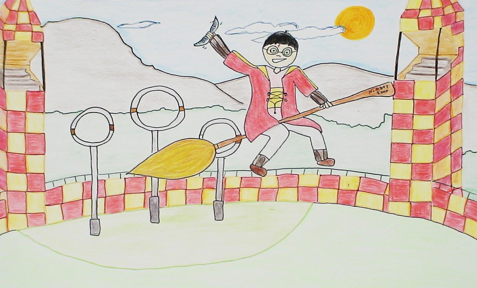 Dibujos Para Colorear Harry Potter: Harry Potter Dibujos. Gallery Of Imagen Titulada Draw