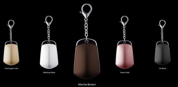 Handbag Dyetonator: Portachiavi anti-scippo