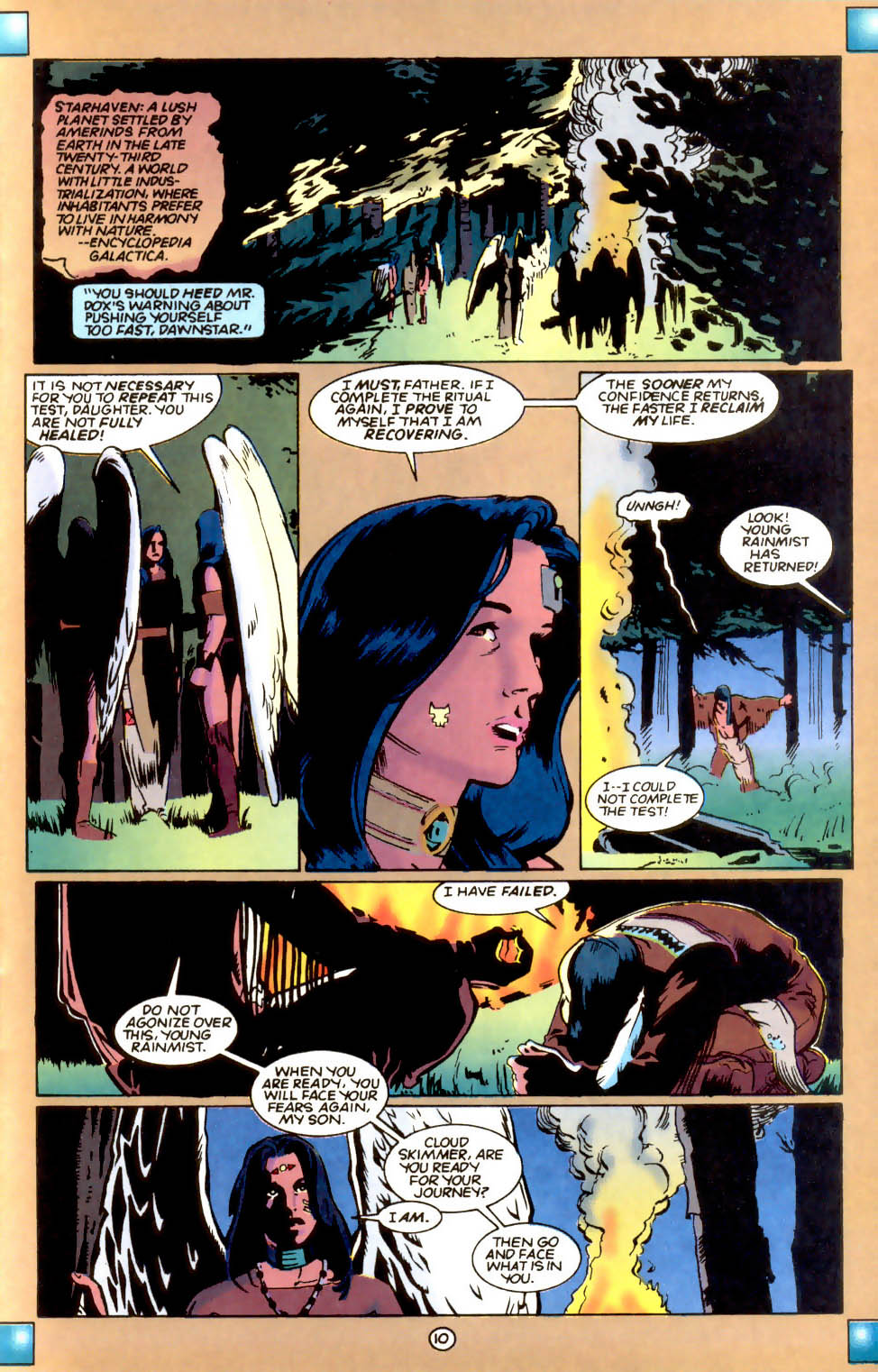 Legion of Super-Heroes (1989) 55 Page 10