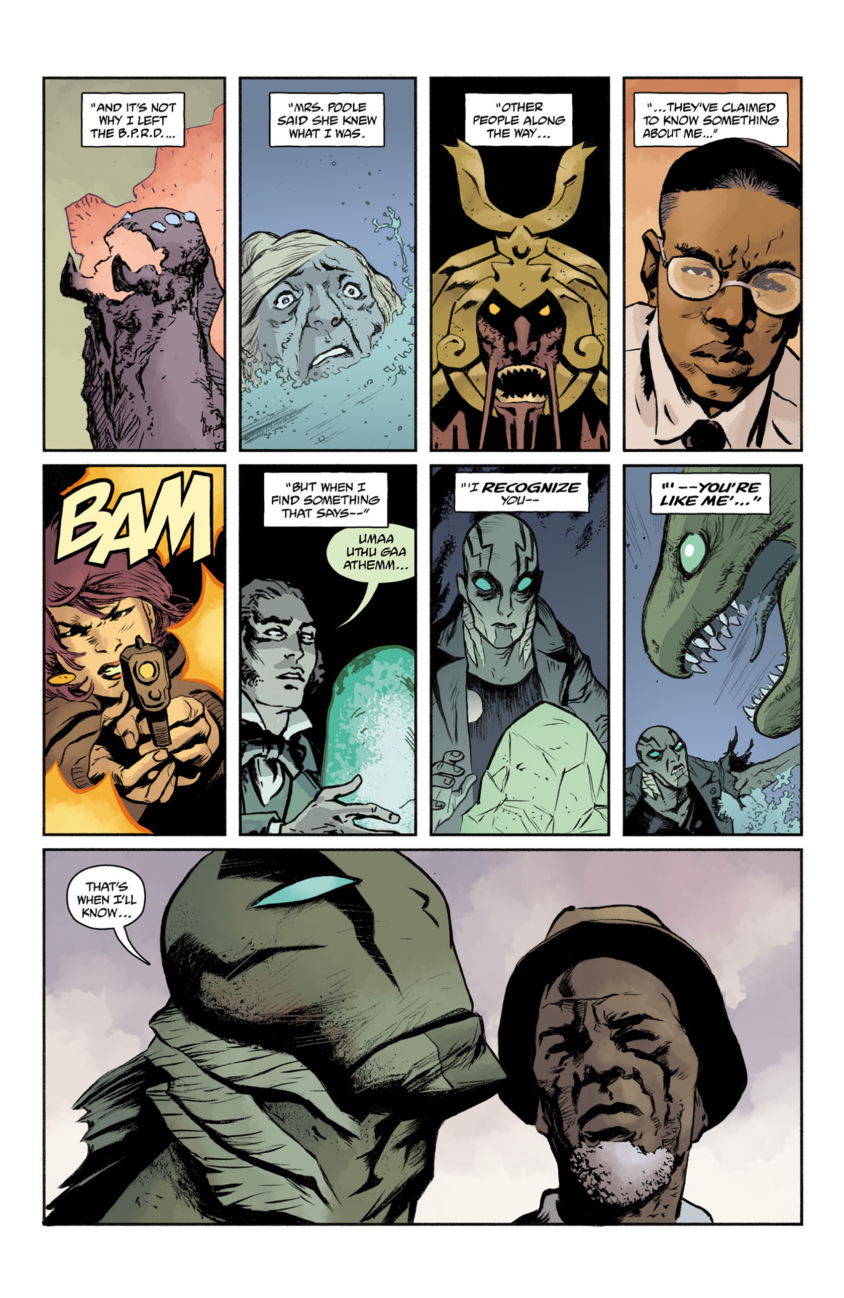 Read online Abe Sapien comic -  Issue #25 - 17