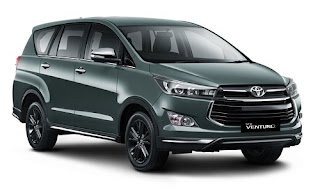 Specifications and Price New Toyota Venture