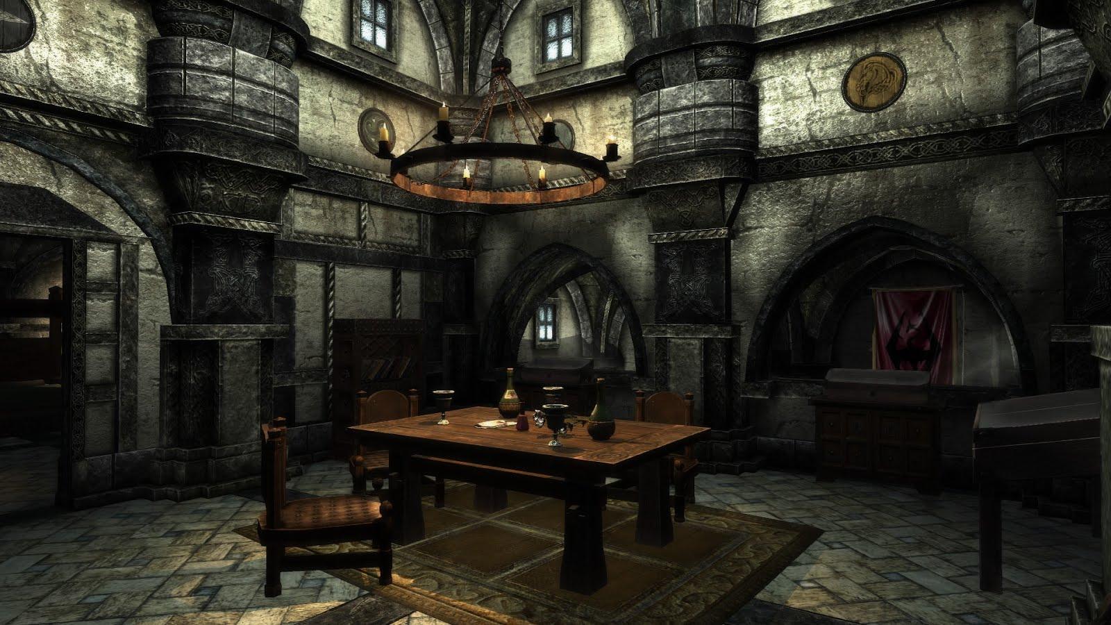 Martin James Mods: Skyrim - Player Home Overhauls