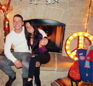 Christian Mccaffrey Girlfriend Brooke Elizabeth Pettet Boyle Current Condition Of Relationship Png