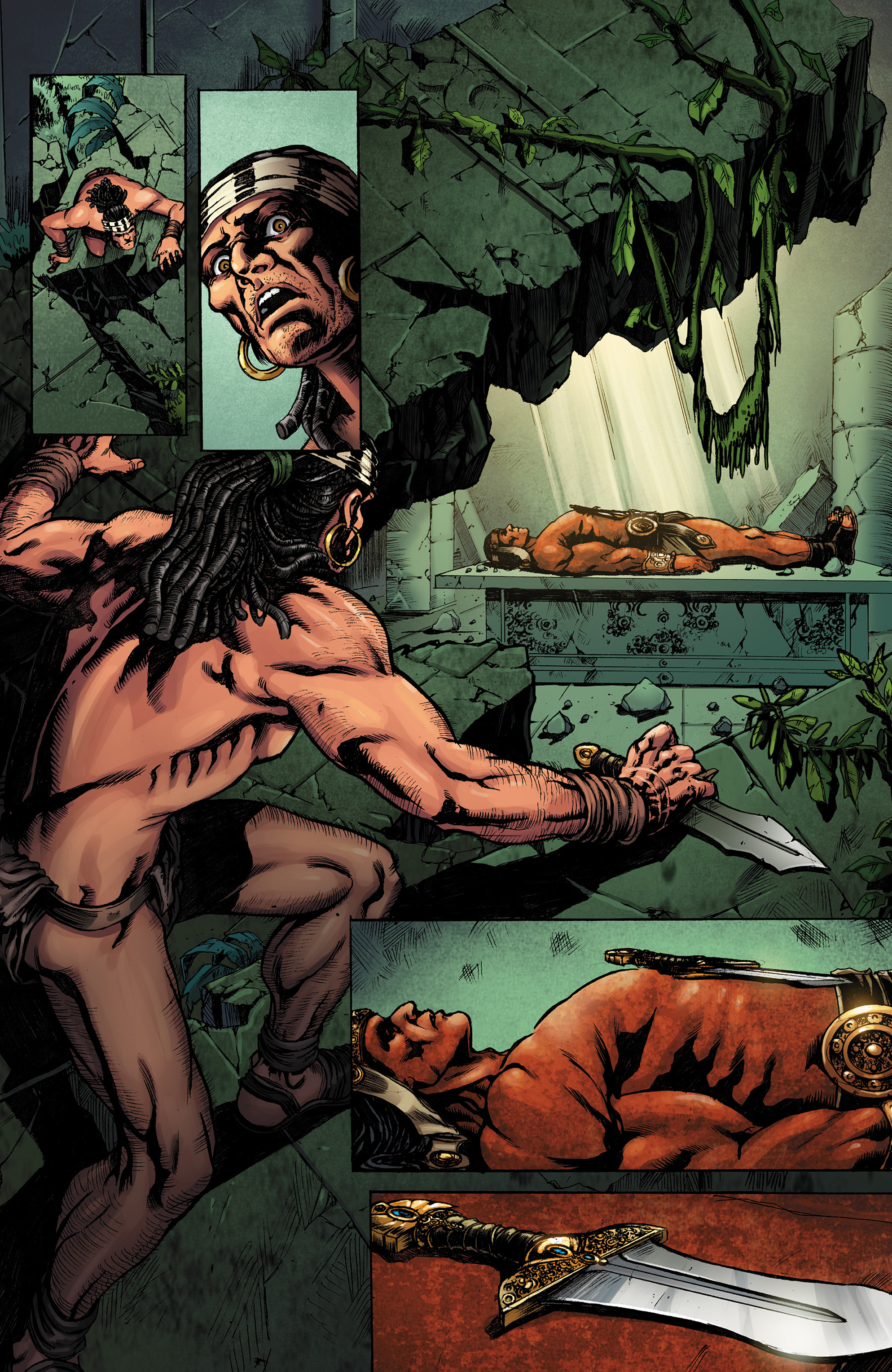 Read online Conan The Slayer comic -  Issue #8 - 4