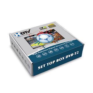 BOX DECODER DVB-T2 DIGITALE TERRESTRE HDMI RCA AV