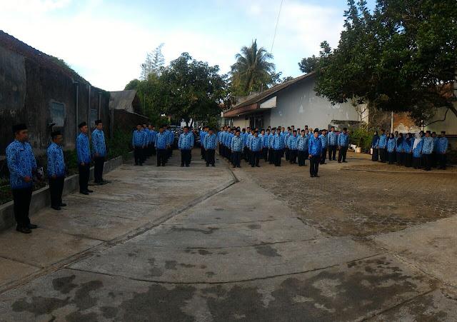 Peserta upacara HUT RI ke-72 BPHW IV.