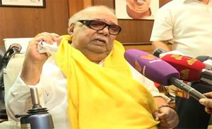 Karunanidhi To Protest Against Election Commission of India