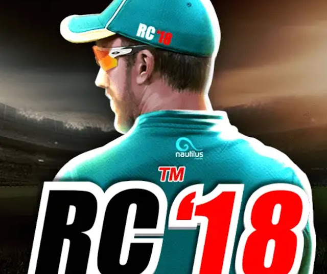Download real Cricket 18 apk v1.9 for free with mod apk v1.9 and obb data without ads working links to download for free.