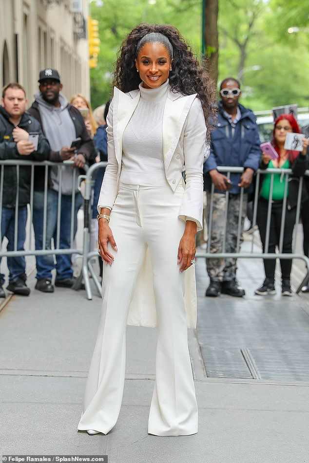 Ciara unveils her new song Beauty Marks