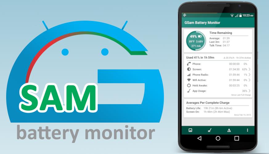 7 Aplikasi Penghemat Baterai Terbaik untuk Smartphone Anda -  GSam Battery Monitor