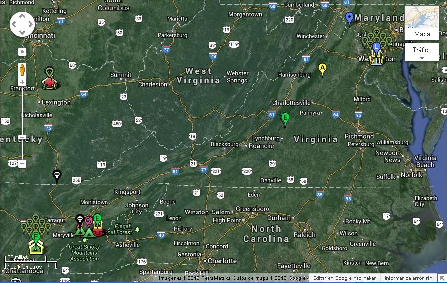 Mapa The Walking Dead.The Walking Dead Mapa De The Walking Dead