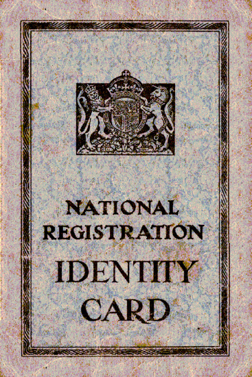 Picture of a National Registration Identity Card