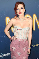 Bella Thorne looks stunnign in a designer gown at the Premiere of Midnight Sun ~  Exclusive Galleries 008.jpg