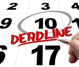 4 Tips Solusi Menghadapi Deadline