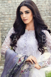 Maya Ali for Maria B Eid Lawn Collection 2016
