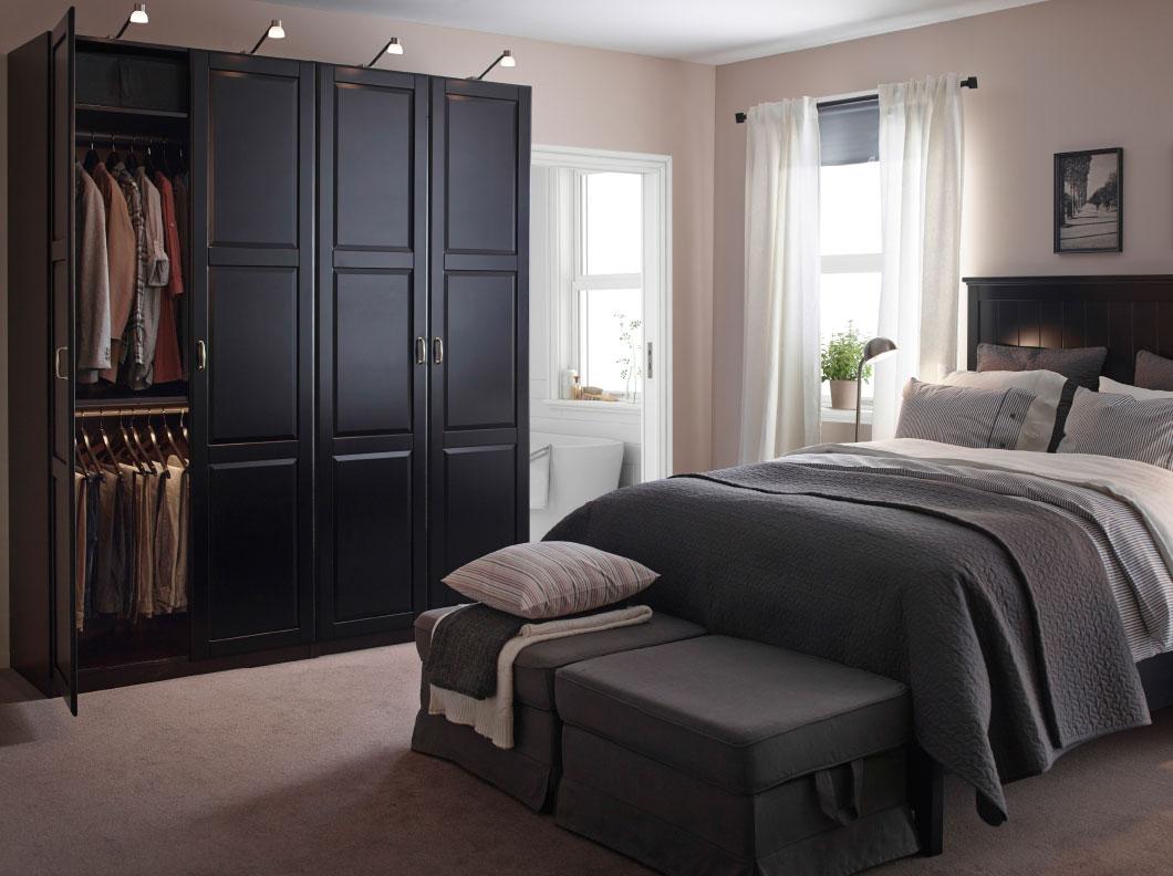 40 quartos de casal ikea 2016 decora o e ideias. Black Bedroom Furniture Sets. Home Design Ideas
