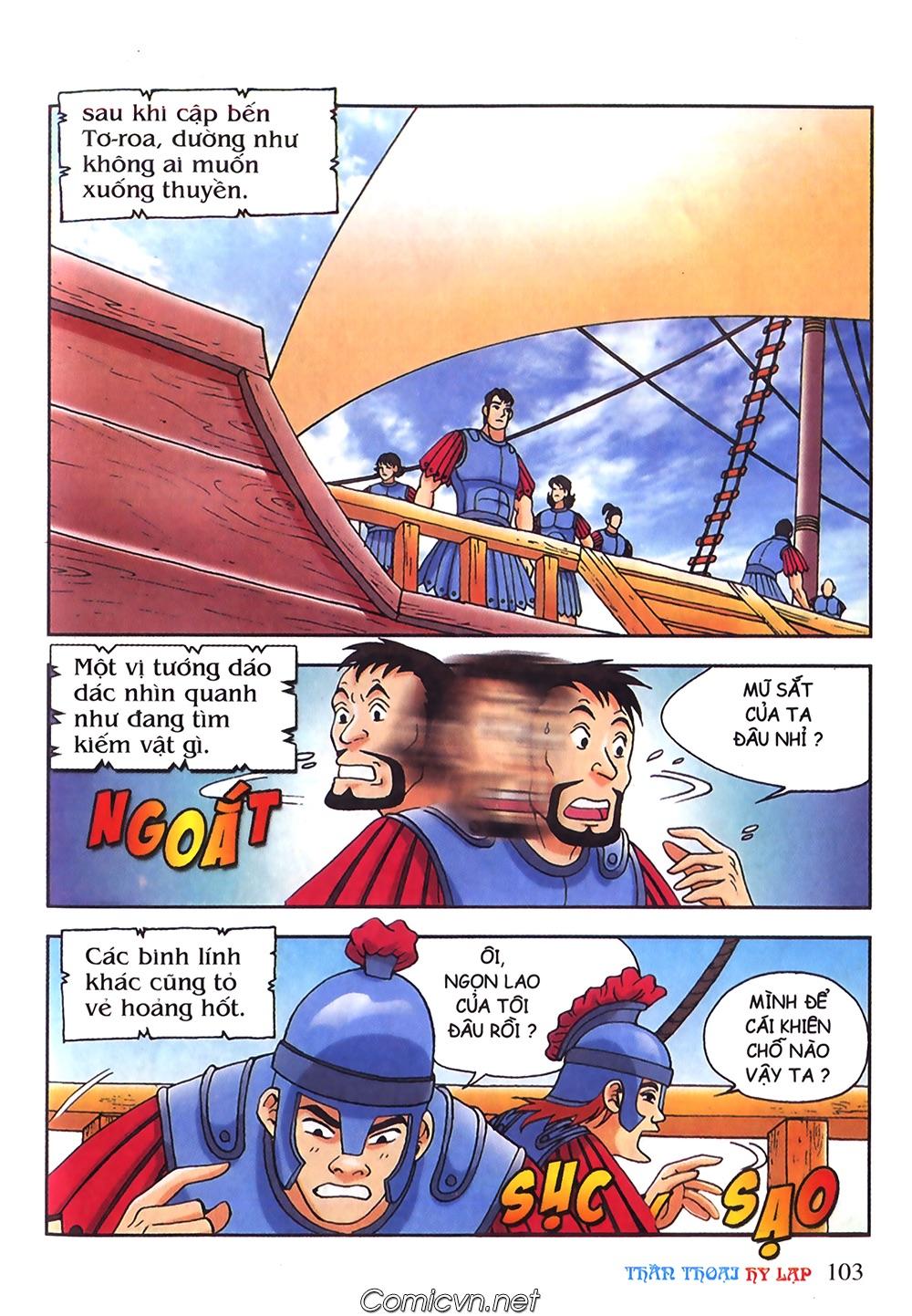 Thần Thoại Hy Lạp Màu - Chapter 55: Trận chiến đầu tiên - Pic 7
