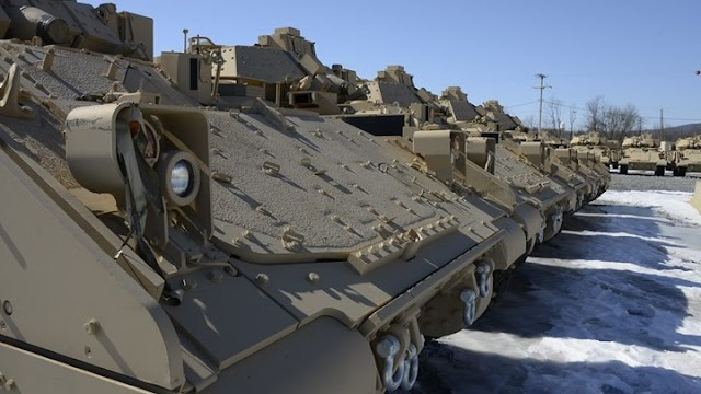 350 Bradley M2A2 από τις ΗΠΑ για τον Έβρο (ΒΙΝΤΕΟ)