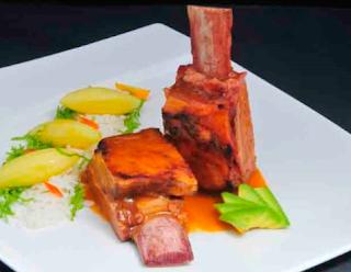 Cocina Ecuatoriana - Seco de costilla